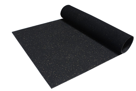 Incstores Rubber Gym Mats 4ft X 6ft Durable Heavy Duty