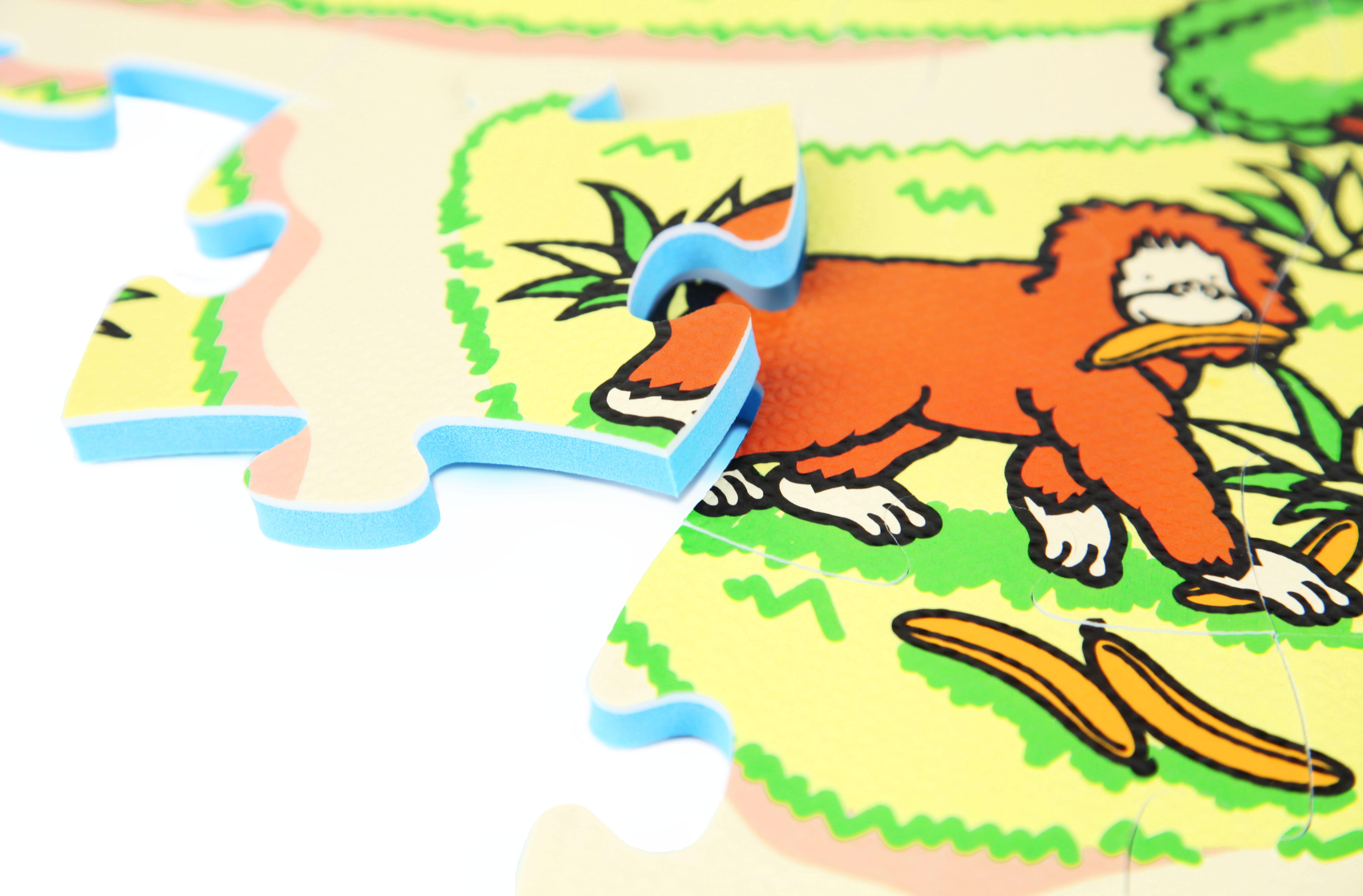 81 Piece Zoo Play Mat Kids Soft Foam Interlocking Baby